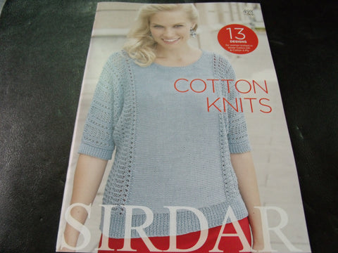 Sirdar Cotton Knits Pattern Book 498
