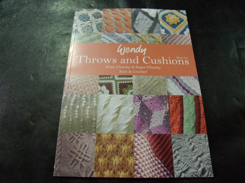 Wendy Throws and Cushions Book of Patterns 370