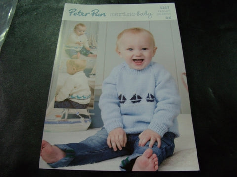 Peter Pan Double Knitting Pattern 1217