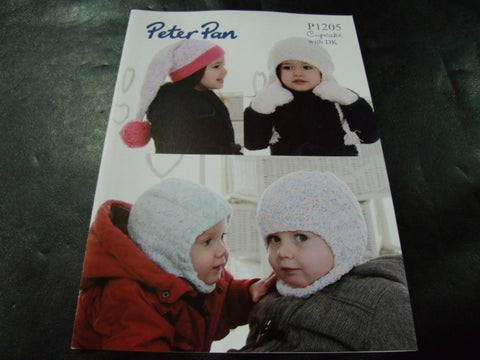 Peter Pan Cupcake Pattern P1205