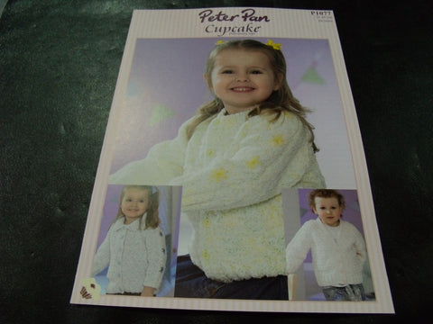 Peter Pan Cupcake Pattern P1077