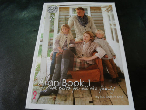 King Cole Aran Book 1 Stylish knits for all the family
