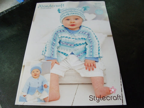 Stylecraft Wondersoft Double Knitting Pattern 9270
