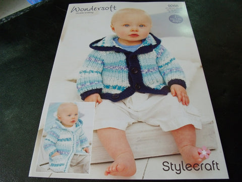 Stylecraft Wondersoft Double Knitting Pattern 9268
