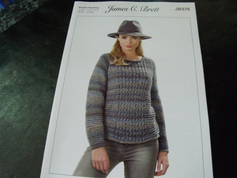 James C Brett Double Knitting Pattern JB376