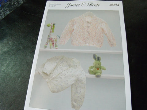 James C Brett Double Knitting Pattern JB374