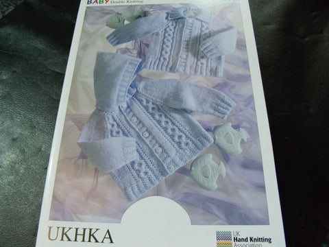 UKHKA Baby Double Knitting Pattern 20