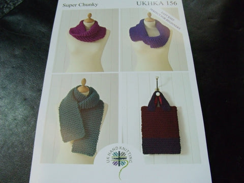UKHKA Super Chunky Knitting Pattern 156
