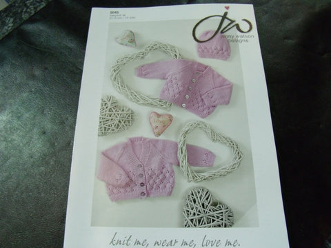 Jenny Watson Designs Double Knitting Pattern 5045