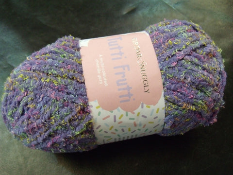 Sirdar Snuggly Tutti Frutti Multi-coloured chenille Yarn