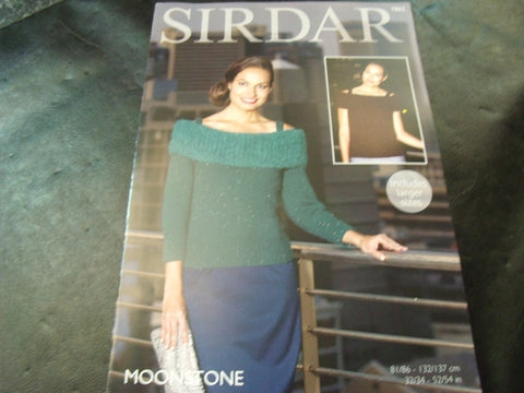 Sirdar Moonstone and Touch Pattern 7862