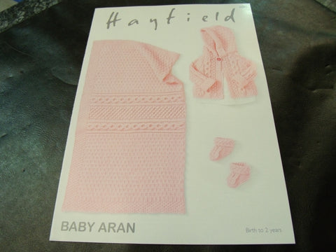Hayfield Baby Aran Pattern 4680