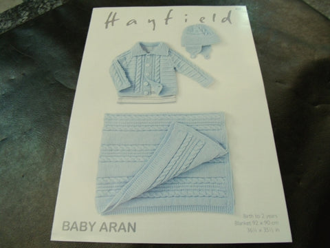 Hayfield Baby Aran Pattern 4681