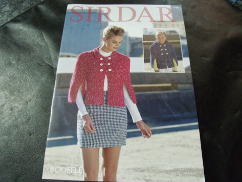 Sirdar Bouffle Soft & Light Chunky Knitting Pattern 7790