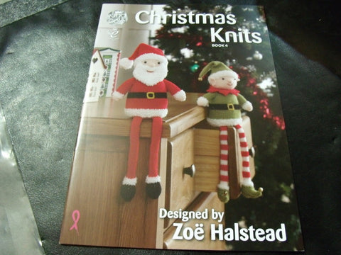 Christmas Knits Book 4 Designs by Zoe Halstead