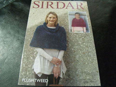 Sirdar Plushtweed Capes Pattern 7875