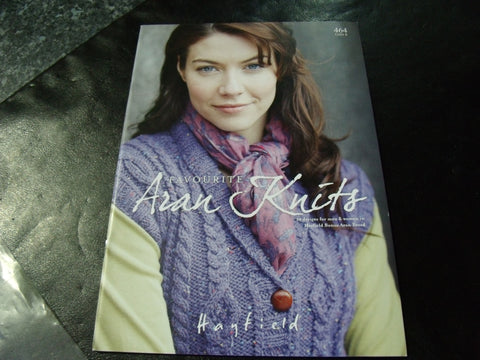 Hayfield 12 Favourite Aran Knits Pattern Book 464   S and ...