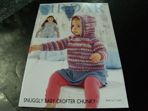 Sirdar Snuggly Baby Crofter Chunky Pattern 4777