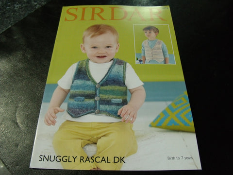 Sirdar Snuggly Rascal Double Knitting Pattern 4774