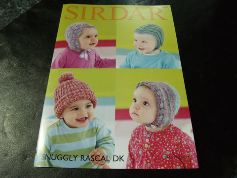 Sirdar Snuggly Rascal Double Knitting Pattern 4771