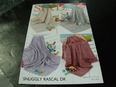 Sirdar Snuggly Rascal Double Knitting Pattern 4770