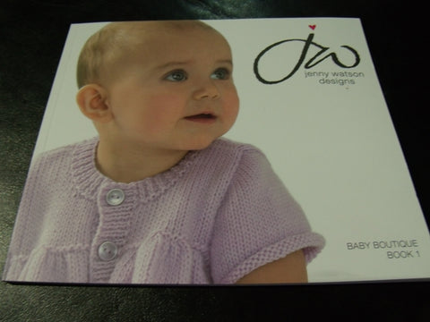 Jenny Watson Designs Baby Boutique Book 1 Knitting