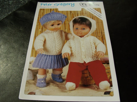 Peter Gregory Designs for Knitting Pattern 7207