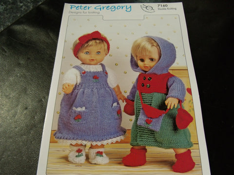 Peter Gregory Designs for Knitting Pattern 7160