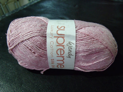 Wendy Supreme Luxury Cotton Silk Double Knitting Yarn
