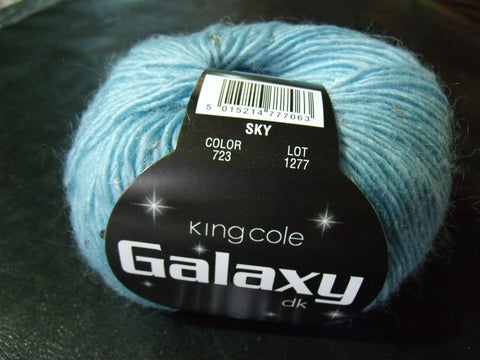 King Cole Galaxy Double Knit Sequined Yarn