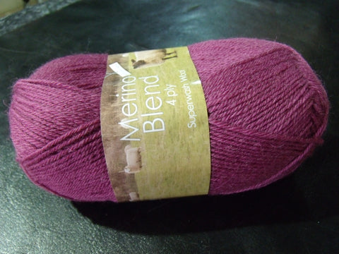 King Cole Merino Blend Anti Tickle Superwash Wool 4 Ply