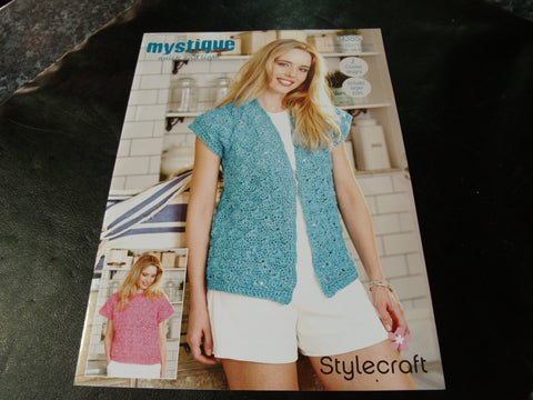 Stylecraft Mystique Quick and Light Crochet pattern 9385