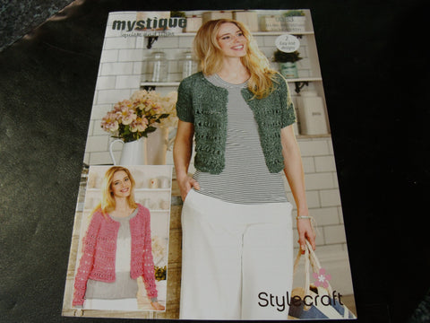 Stylecraft Mystique Quick and Light Knitting pattern 9383