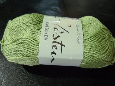 James C Brett Glisten Cotton Double Knitting Yarn