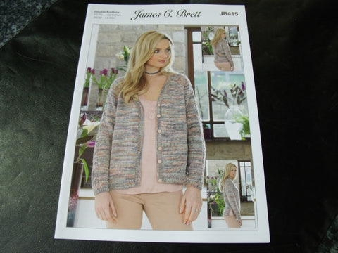 James C Brett Double Knitting Pattern JB415