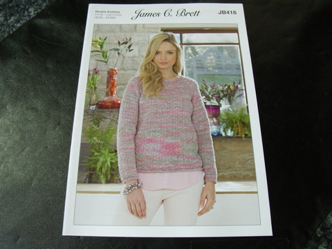 James C Brett Double Knitting Pattern JB416