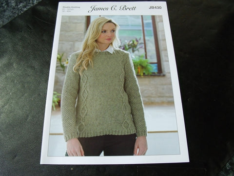 James C Brett Double Knitting Pattern JB430