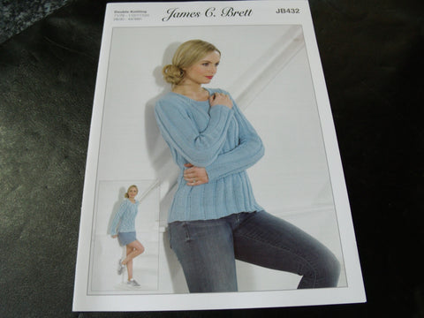 James C Brett Double Knitting Pattern JB432