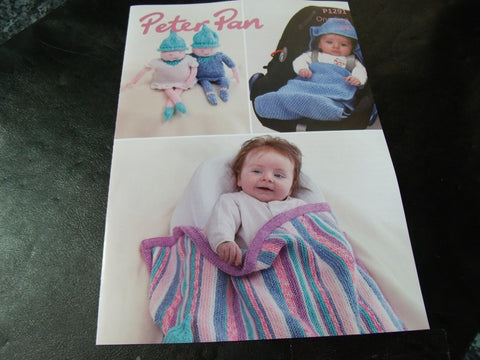 Peter Pan One Size Rainbow Blanket Pixies And Car Seat Pattern P1291