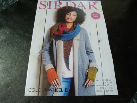 Sirdar  Colourwheel Double Knitting Pattern 8031 Accessories