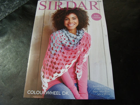 Sirdar  Colourwheel Double Knitting Crochet Pattern 8030