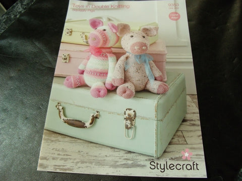 Stylecraft Squiggly Pigs Double Knit Crochet Design 9353