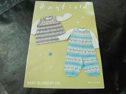 Hayfield Baby Blossom Double Knitting Pattern 4844