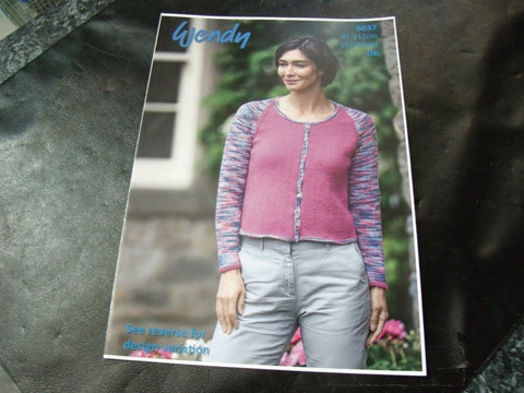 Wendy Double Knit Pattern 6037 Cardigans