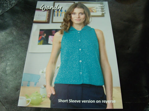 Wendy Double Knit Pattern 5882 Tops