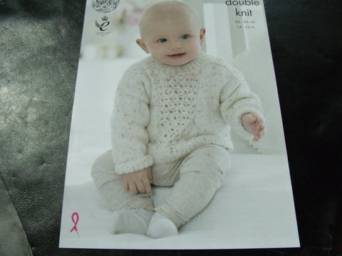 King Cole Double Knit Pattern 4791