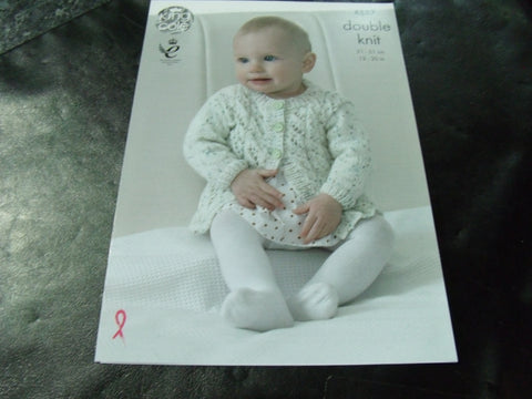 King Cole Double Knit Pattern 4887