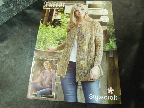 Stylecraft Double Knitting Pattern 9426 Two Easy Knit Designs