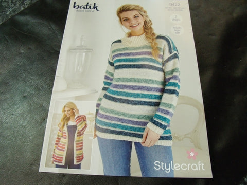 Stylecraft Double Knitting Pattern 9422 Two designs