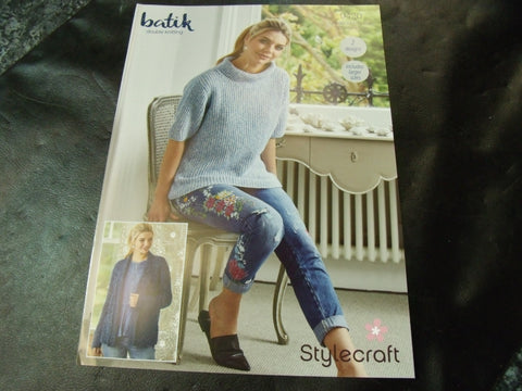 Stylecraft Double Knitting Pattern 9420 Two designs